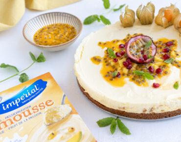 Mango passiemousse taart26