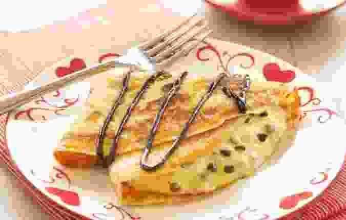Pannenkoeken Met Straciatella Pudding Copy