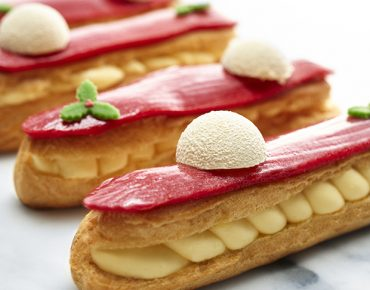 Imperial Pudding Eclair Champagne marsepein 02