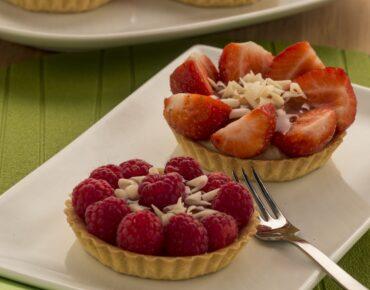 Fruit tartelette met pudding12
