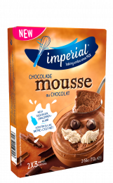 Mousse Choco 2x 58g