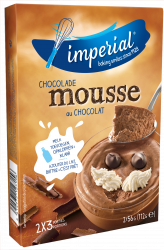 IMPERIAL MOUSSE 3 D CHOCO